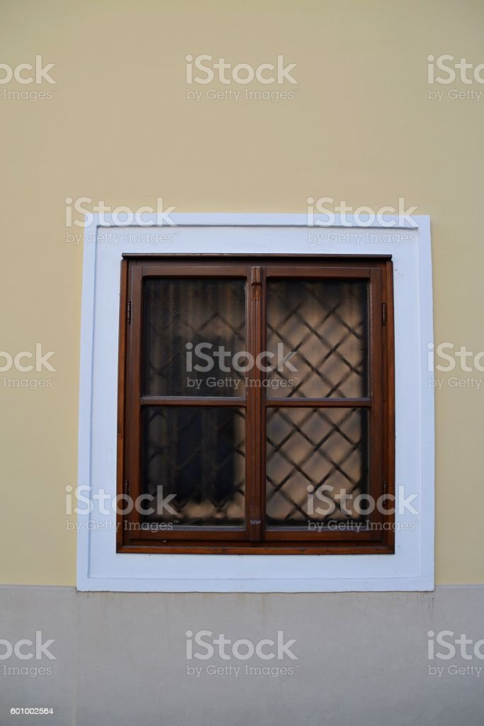 Old Window stock photo