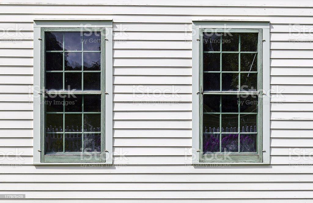 Old Windows royalty-free stock photo
