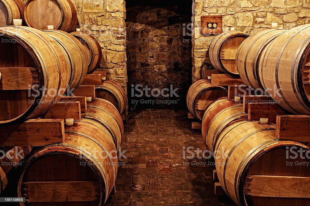 Old Wine Cellar stock photo