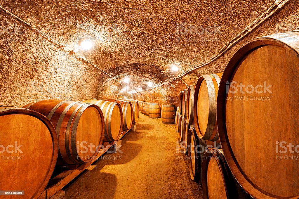 Old Wine Cellar royalty-free stock photo