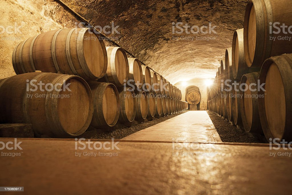 Old Wine Cellar stock photo