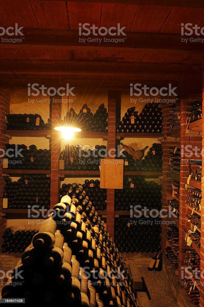 Old Wine Cellar,Chianti Region. royalty-free stock photo