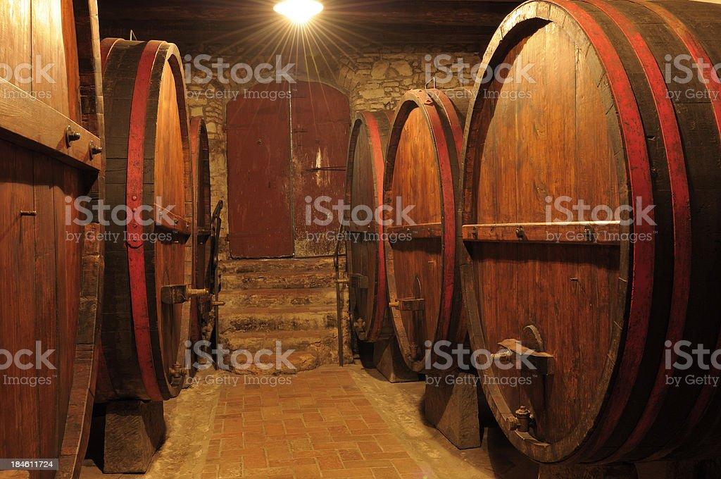 Old Wine Cellar,Chianti Region,Tuscany,Italy. royalty-free stock photo