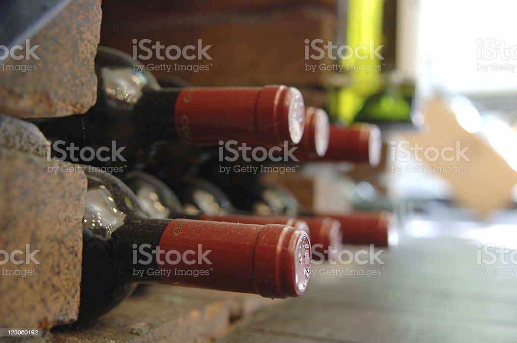 old wine royalty-free stock photo