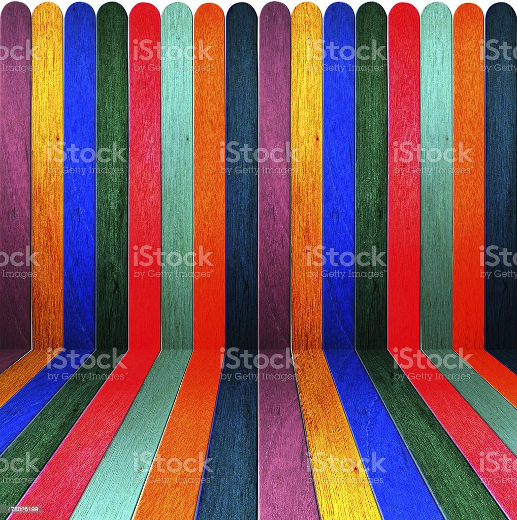 old wood color room royalty-free stock photo