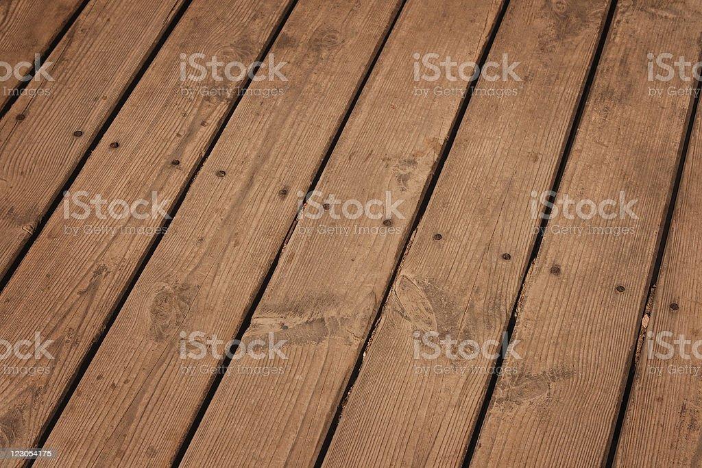 Old wood floor. royalty-free stock photo