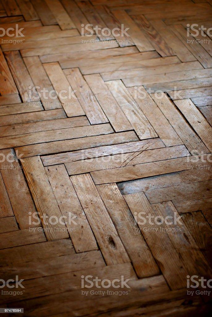 Old wood floor royalty-free stock photo