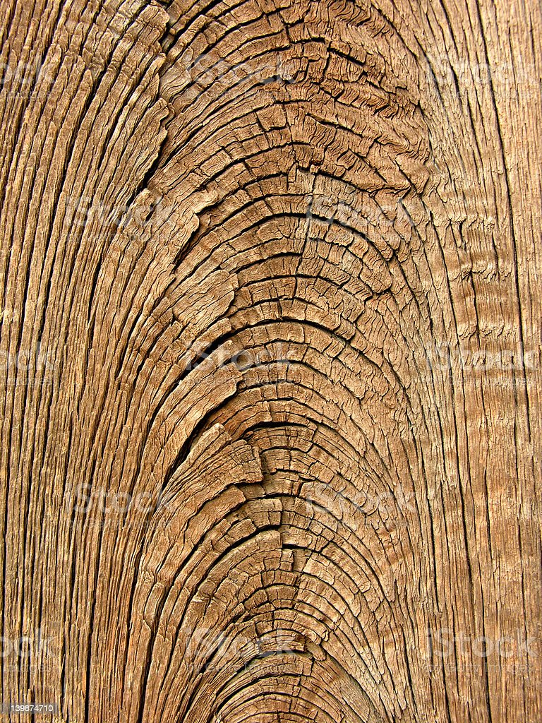 Old wood grain texture royalty-free stock photo