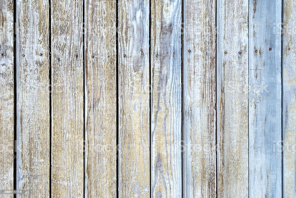 Old wood painted planks for background stock photo