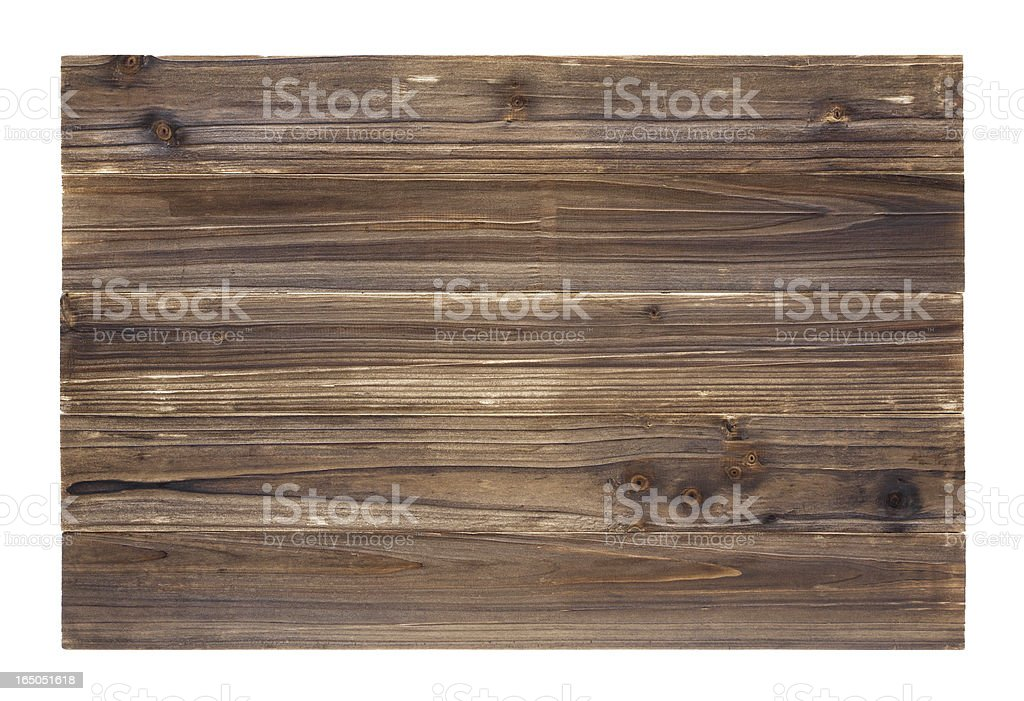 Old wood panelling background textured (Full Frame) stock photo