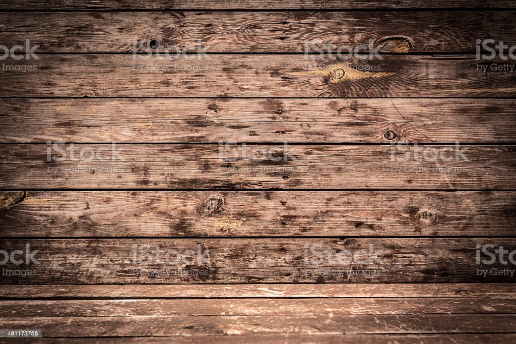 Old Wood Perspective stock photo