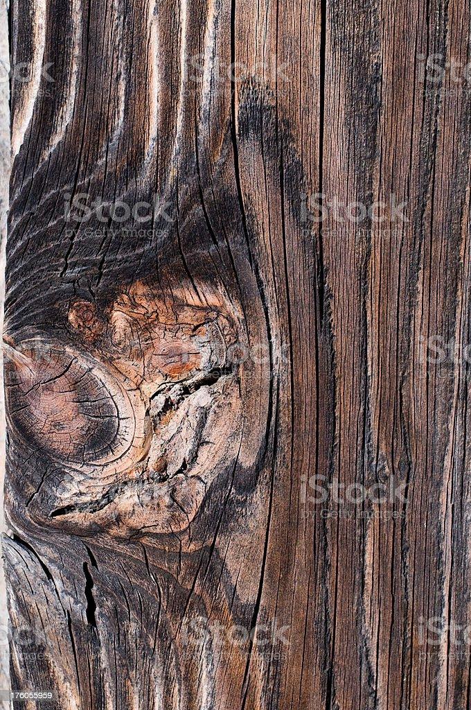 Vecchio legno foto stock royalty-free