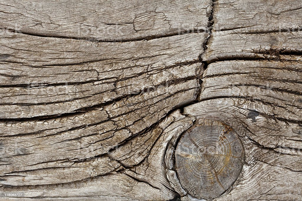 Old Wood Plank Detail royalty-free stock photo