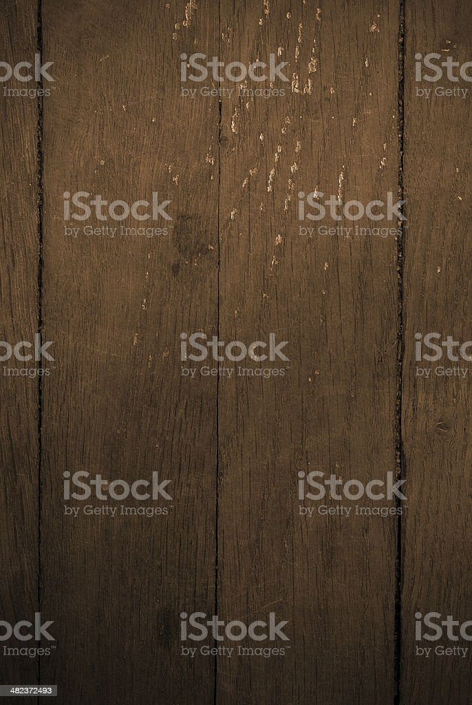 Tablas de madera antigua foto de stock libre de derechos