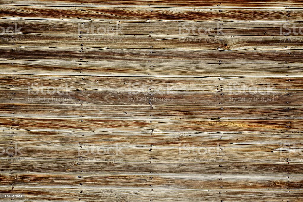 Old Wood Wall Background royalty-free stock photo