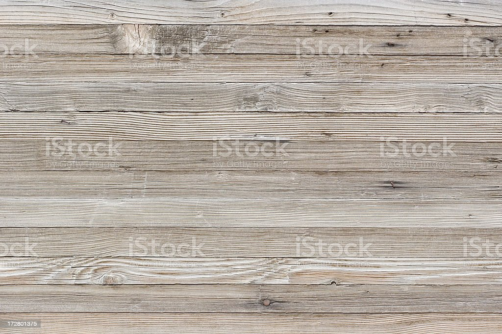 Old Wood Wall stock photo