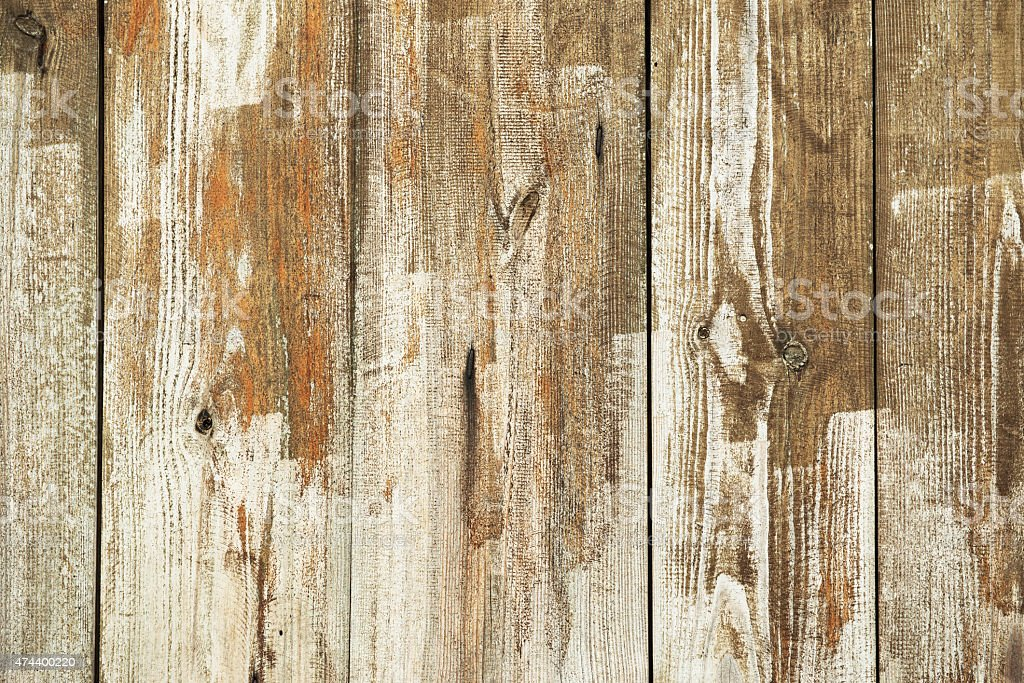 Old wooden background - empty. stock photo