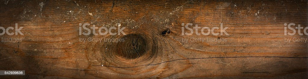 Old Wooden Background with Knot stock photo