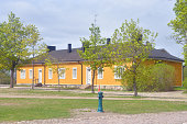 Old wooden building in Lappeenranta.