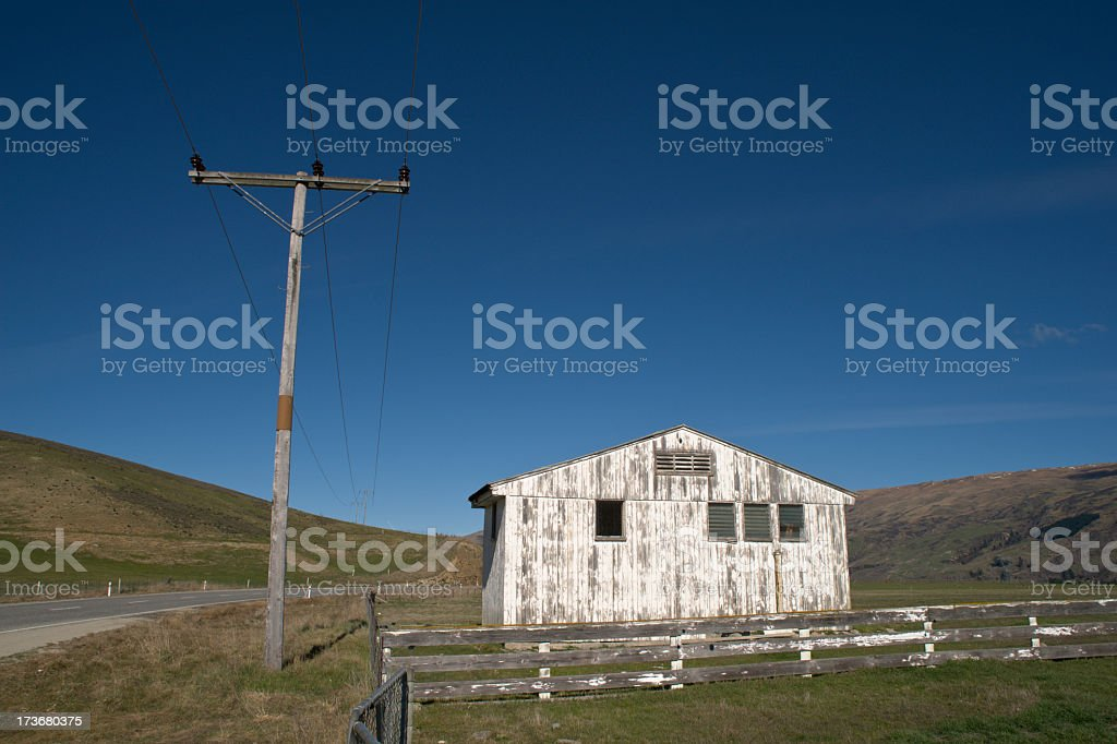 Old Wooden Building stock photo