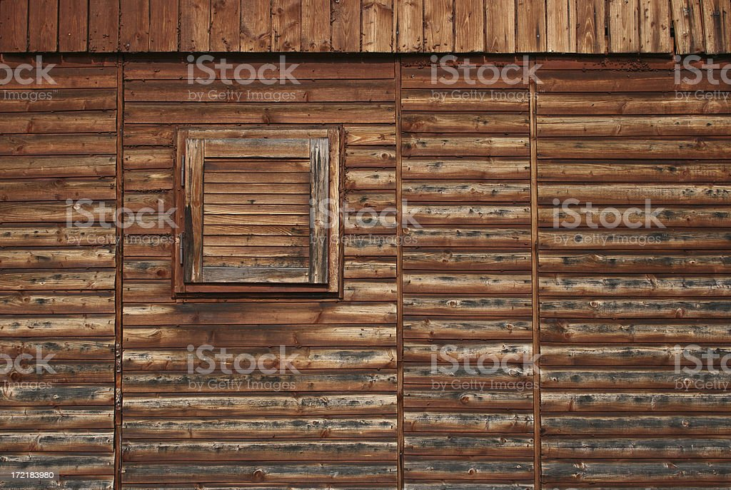 Old Wooden Cottage royalty-free stock photo