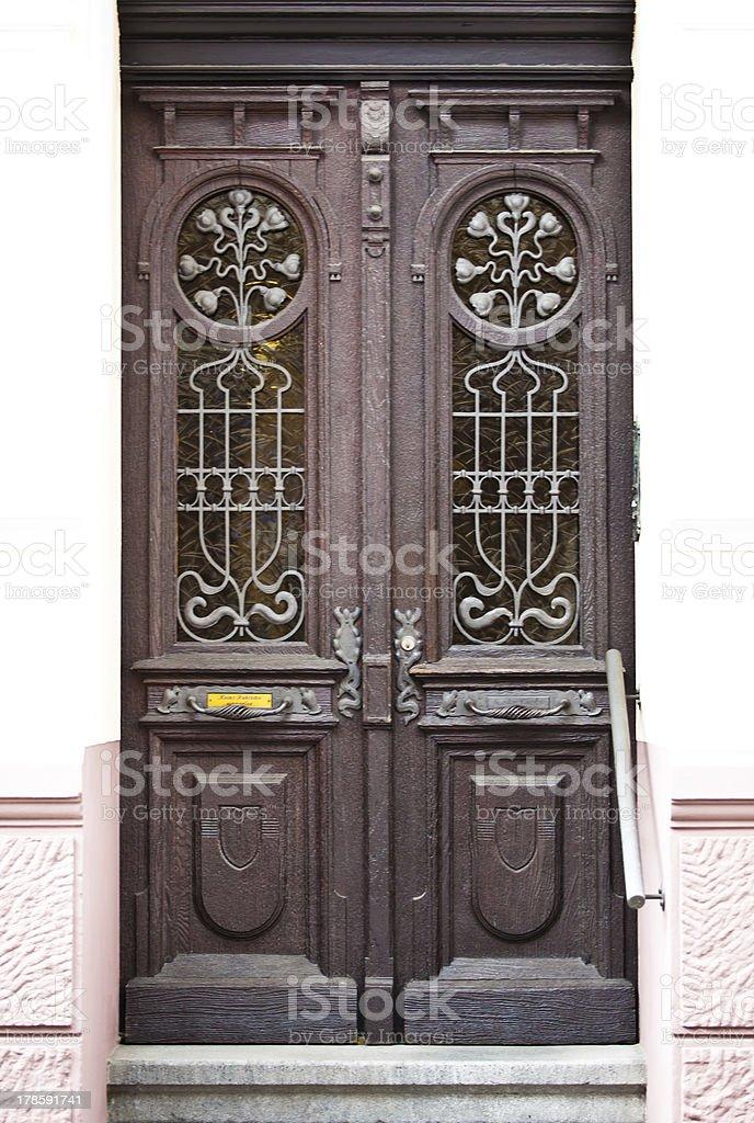 Old Wooden Door. royalty-free stock photo