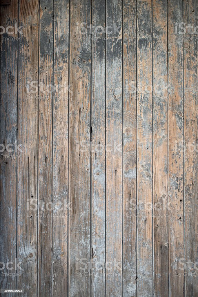 Old wooden door stock photo
