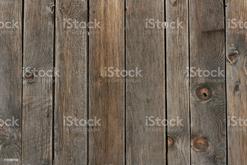 Old Wooden Fence Detail royalty-free stock photo