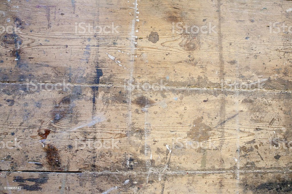 Old Wooden Floorboards stock photo