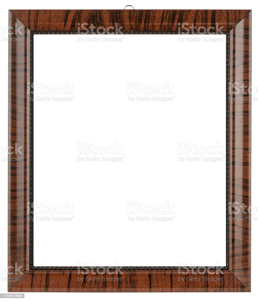 old wooden frame royalty-free stock photo
