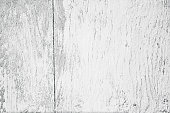 Old wooden gray white plywood wall, weathered grunge texture background