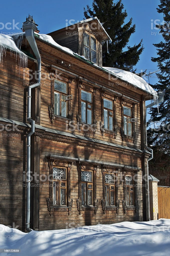 Old wooden house royalty-free stock photo