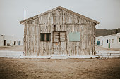 Old wooden house.