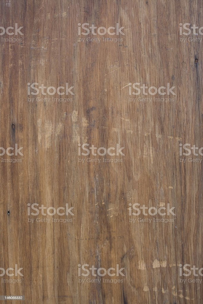 Old wooden plank worn by the elements royalty-free stock photo