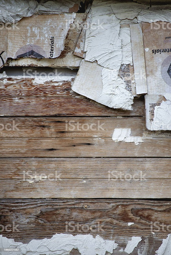 Old Wooden Planks, weathered. royalty-free stock photo