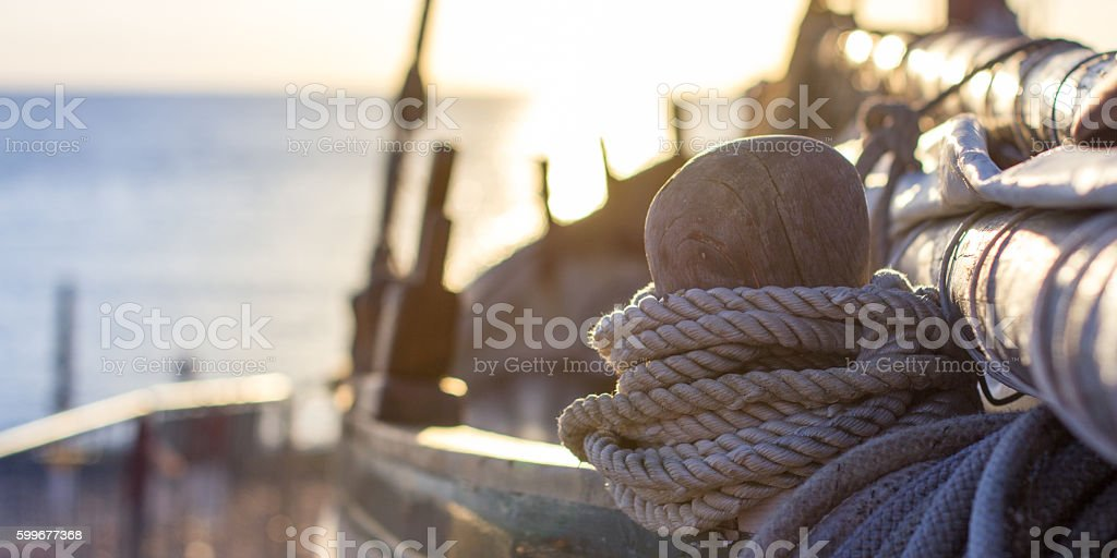 Old wooden traditional boats stock photo