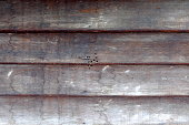 Old wooden wall background.