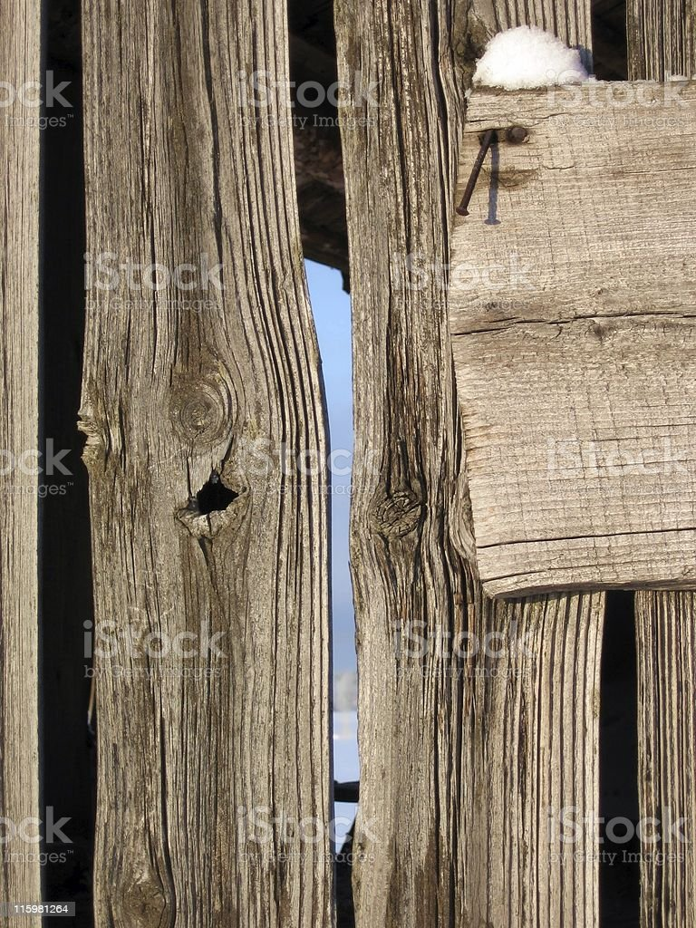 Old wooden wall royalty-free stock photo