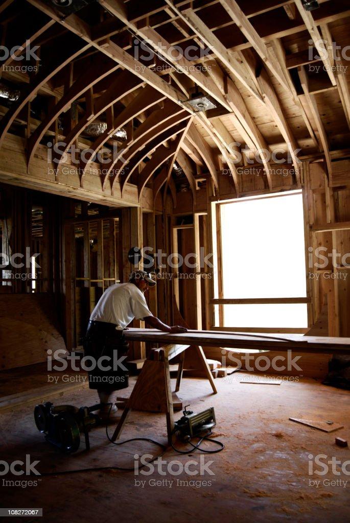Old world craftsmanship royalty-free stock photo