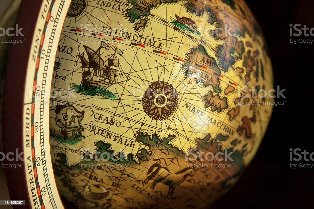 Old world map globe stock photo 184858267 istock old world map globe royalty free stock photo gumiabroncs Image collections