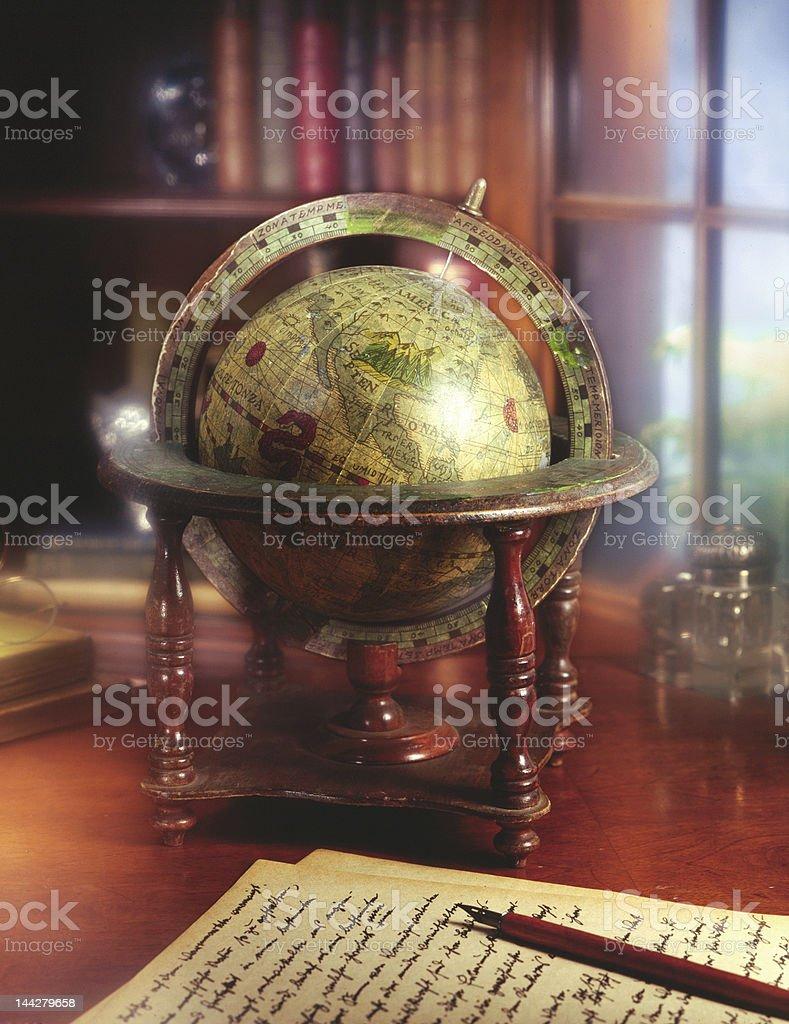Old World Traveler stock photo