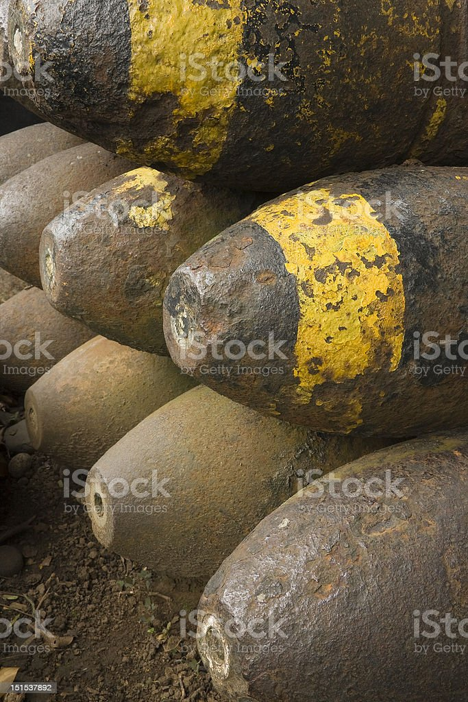 Old World War II Munition Lizenzfreies stock-foto