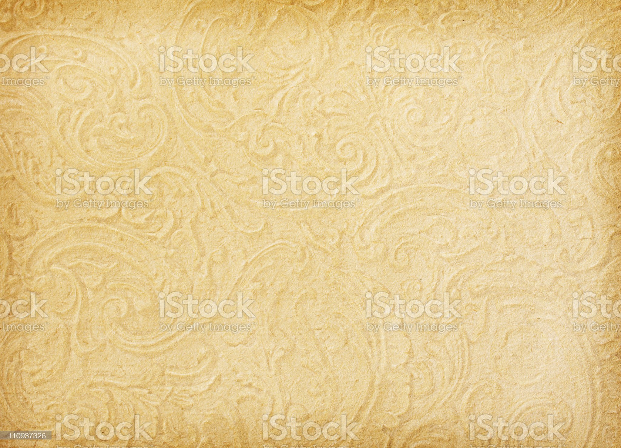 Old worn paper royalty-free stock photo