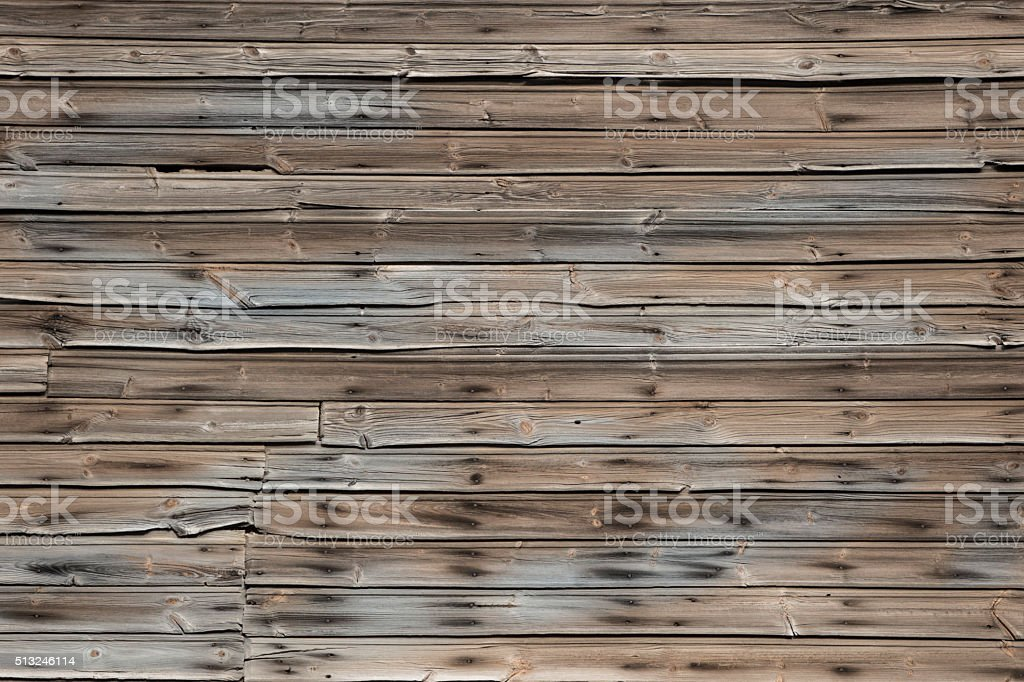 old worn wooden wall stock photo