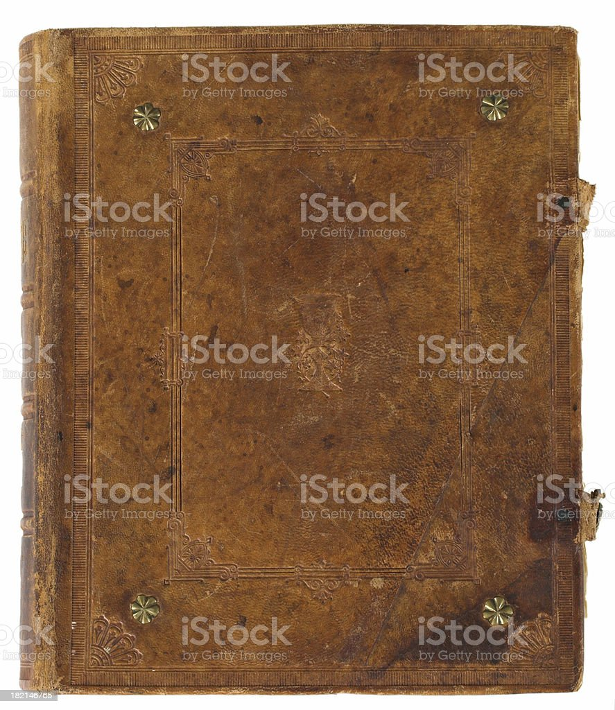 Old wornout book royalty-free stock photo