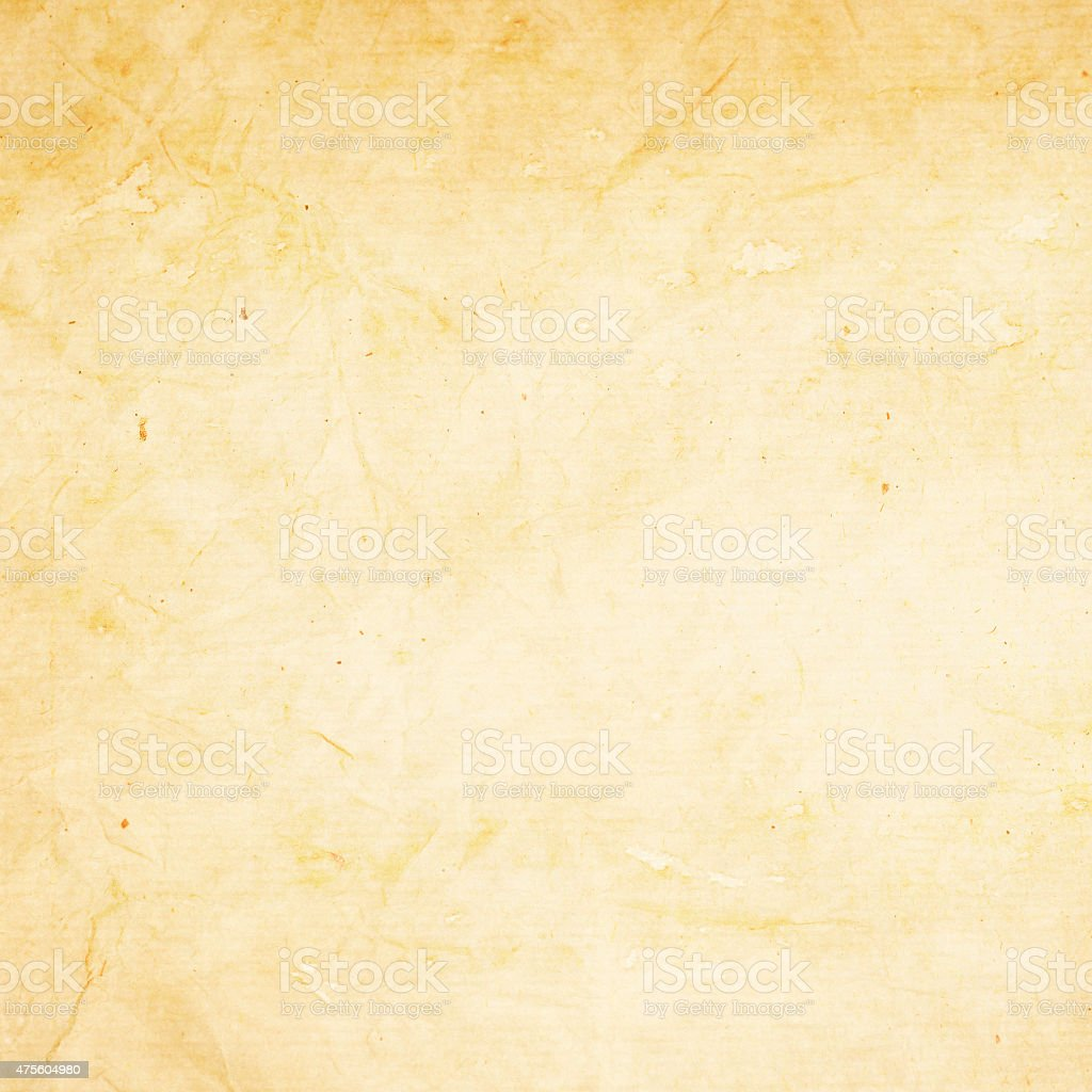 old yellowish paper texture stock photo