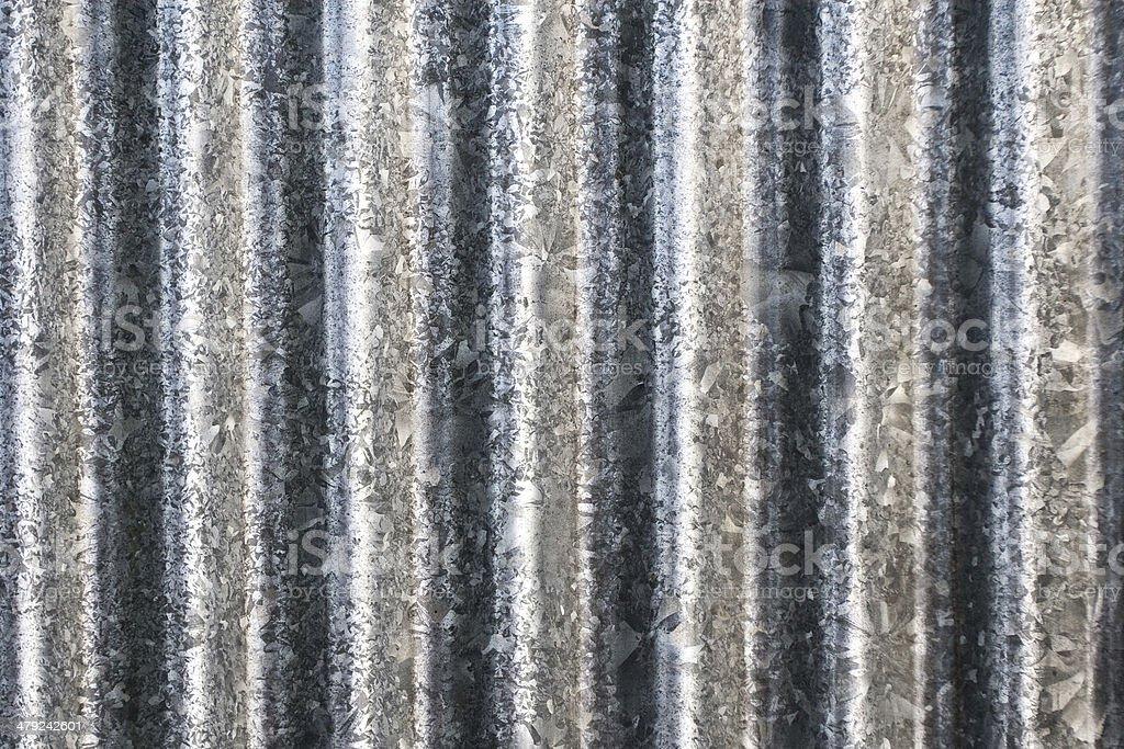 Old Zinc texture stock photo