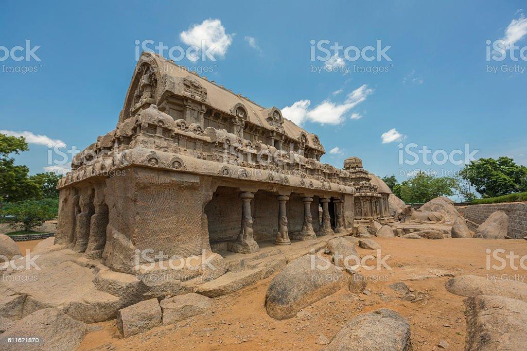 Oldage hindu temple . stock photo