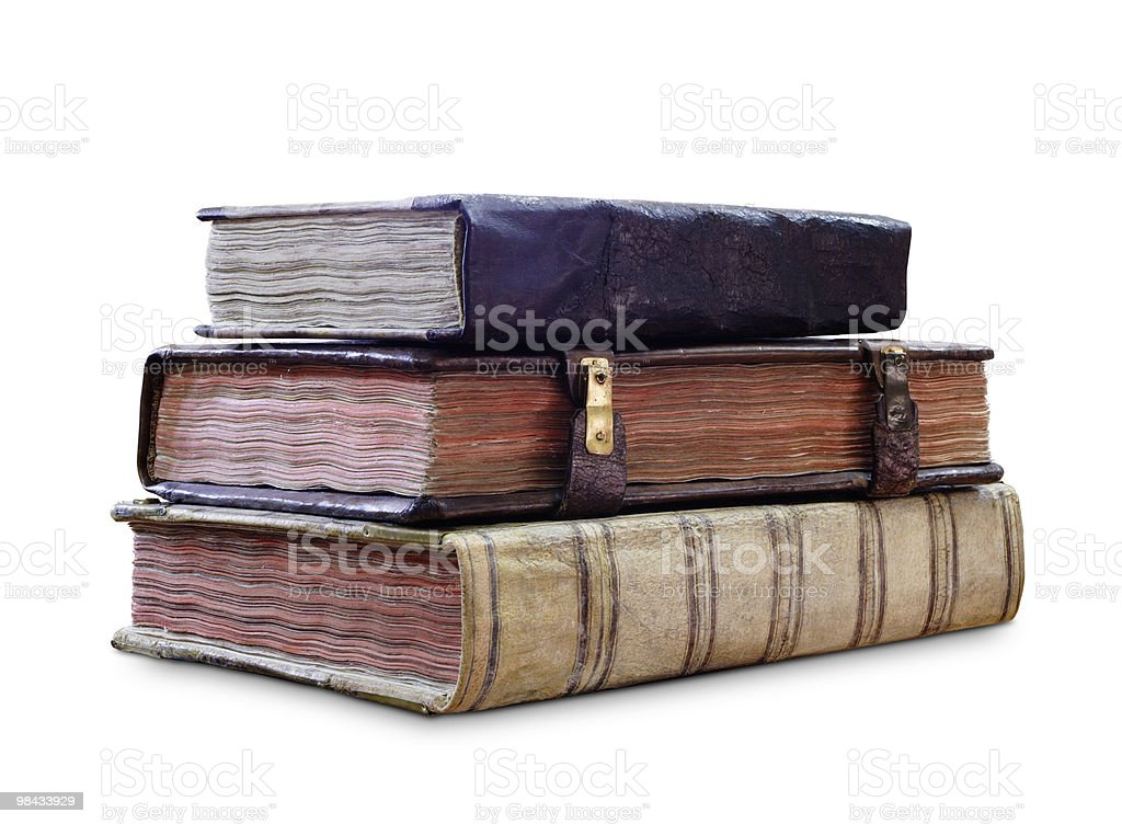 old-book royalty-free stock photo