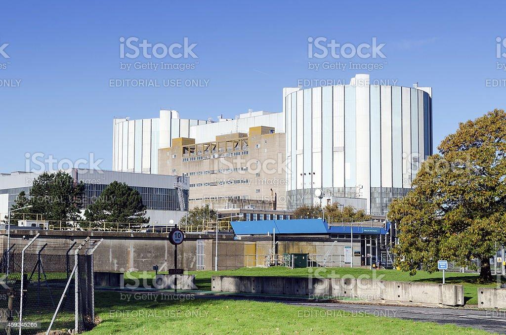 Oldbury Nuclear power station, United Kingdom stock photo
